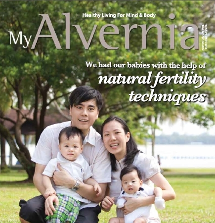 Mt Alvernia Issue 12 Features<br /><br /><br /><br /><br /><br /> FertilityCare & NaproTechnlogy